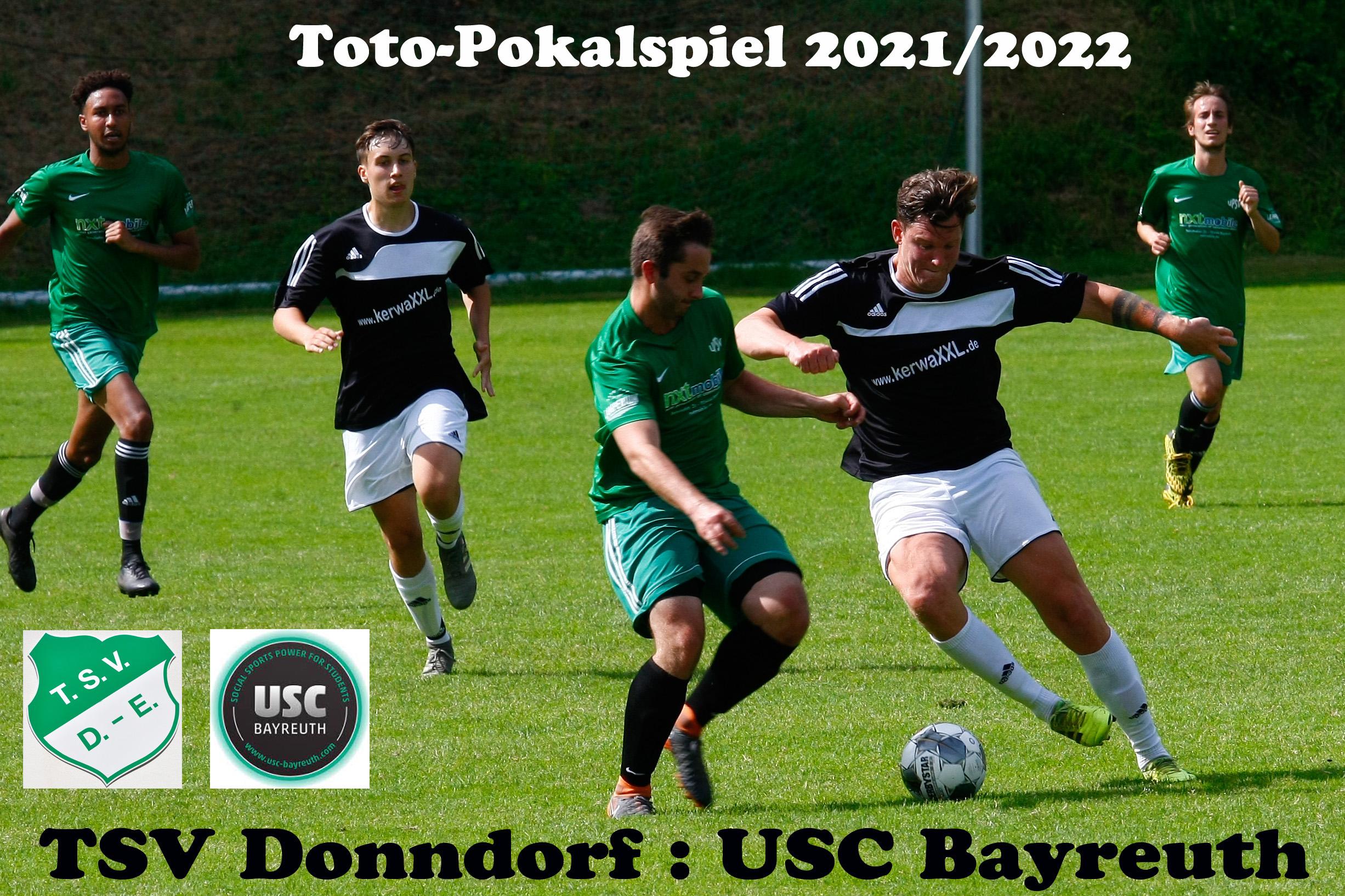 - Der Toto-Pokal 2021/2022 ist für den TSV Donndorf auch schon wieder Geschichte -