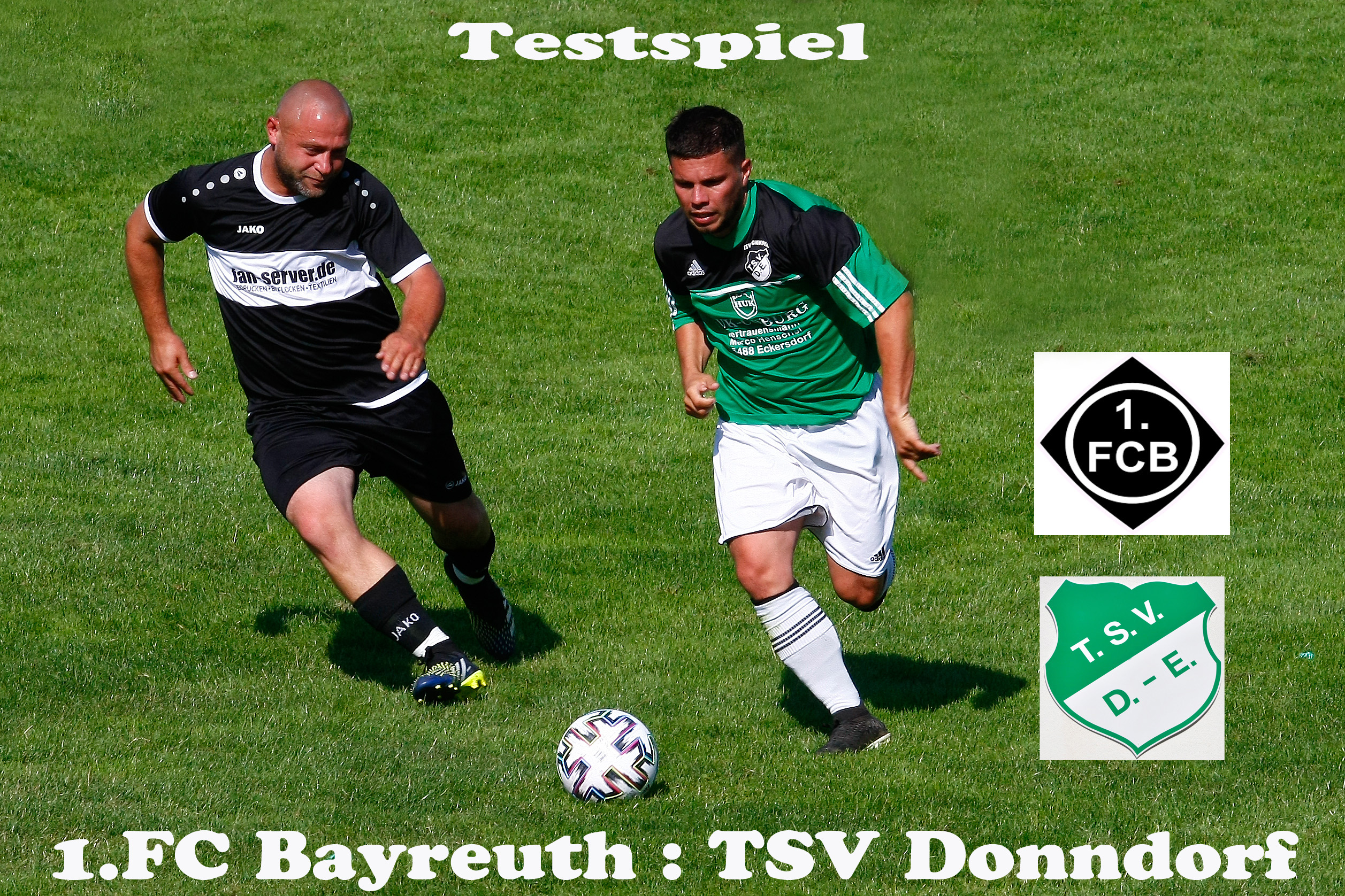 -Testspiel gegen die neu formierte Mannschaft des 1. FC Bayreuth -