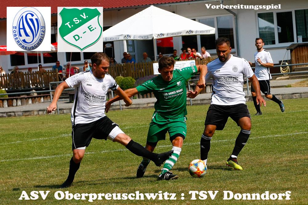 Vorbereitungsspiel ASV Oberpreuschwitz - 1