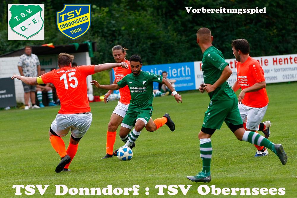 Vorbereitungsspiel TSV Obernsees - 1