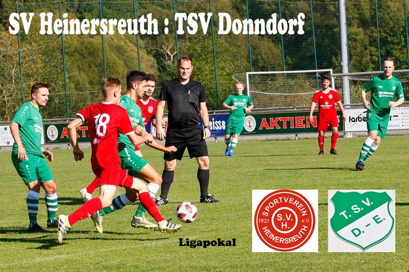 Pokalspiel SV Heinersreuth