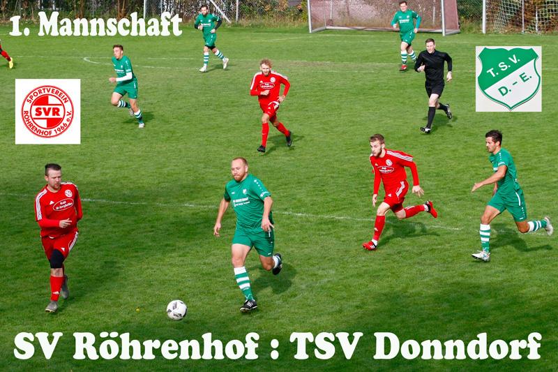 Ligaspiel SV Röhrenhof - 1
